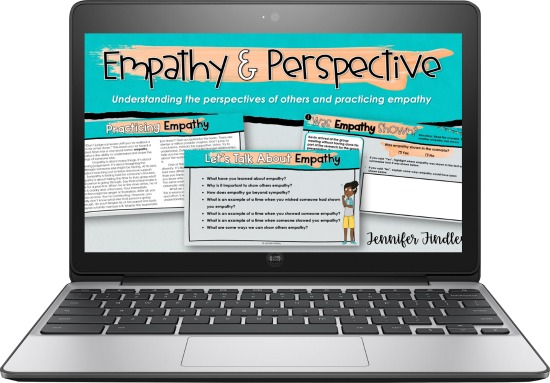 FREE activities and instructional materials to help you teach the power of empathy to your students.