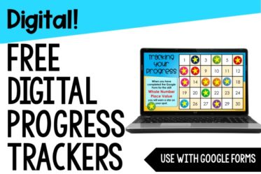 Do you use Google Forms for digital activities and want to motivate your students? Try these FREE digital progress trackers!