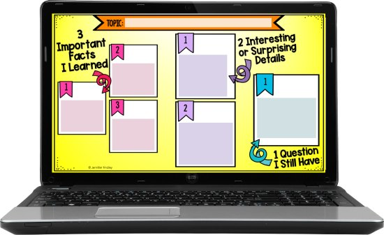 Need a way to hold your students accountable for reading while teaching digitally? Grab these FREE digital graphic organizers.