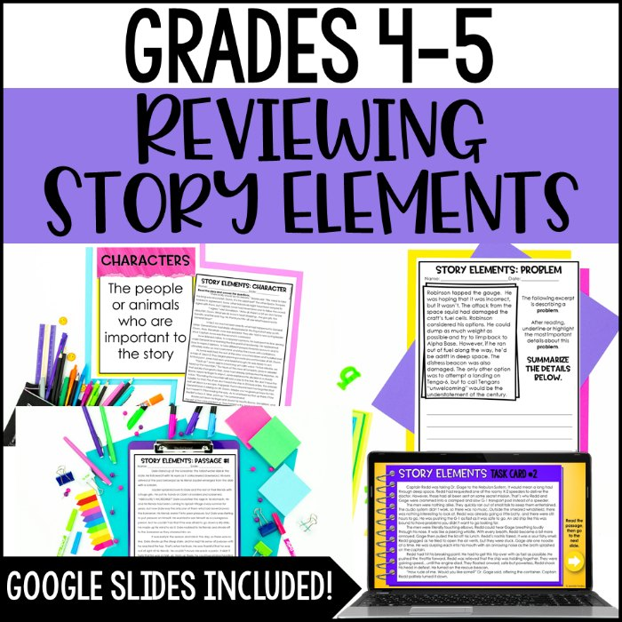 Need rigorous and engaging digital reading activities? Sign up to have this FREE digital reading resource for reviewing story elements in 4th and 5th grade sent straight to your inbox.