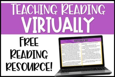 Are you teaching reading virtually and looking for ideas and strategies? This post shares one way to structure your weekly digital reading instruction.