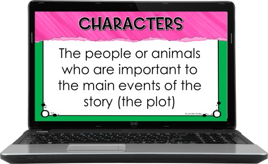 Free virtual reading resources! Sign up for a free digital (and printable) reading resource to introduce story elements to your 4th and 5th graders.