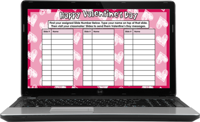 Valentine's Day Activity Setup