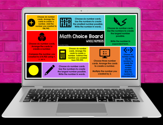 Do you need digital math activities to start the year? Check out this post for free digital math centers for grades 3-5.