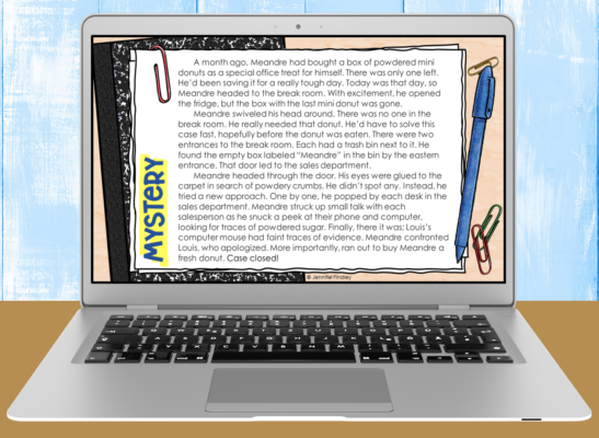 Download these free digital and printable reading activities that are perfect for the beginning of the school year.