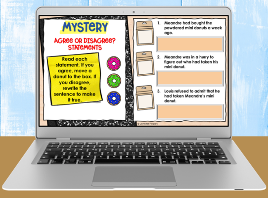 Download these free digital reading activities!