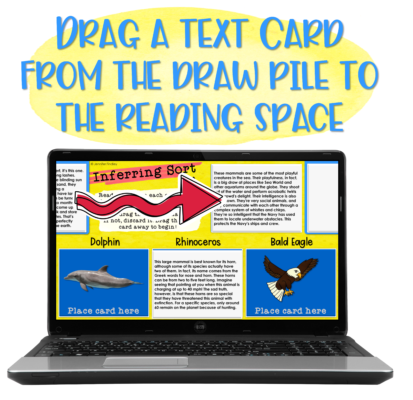 Interactive reading sorts for grades 4-5.